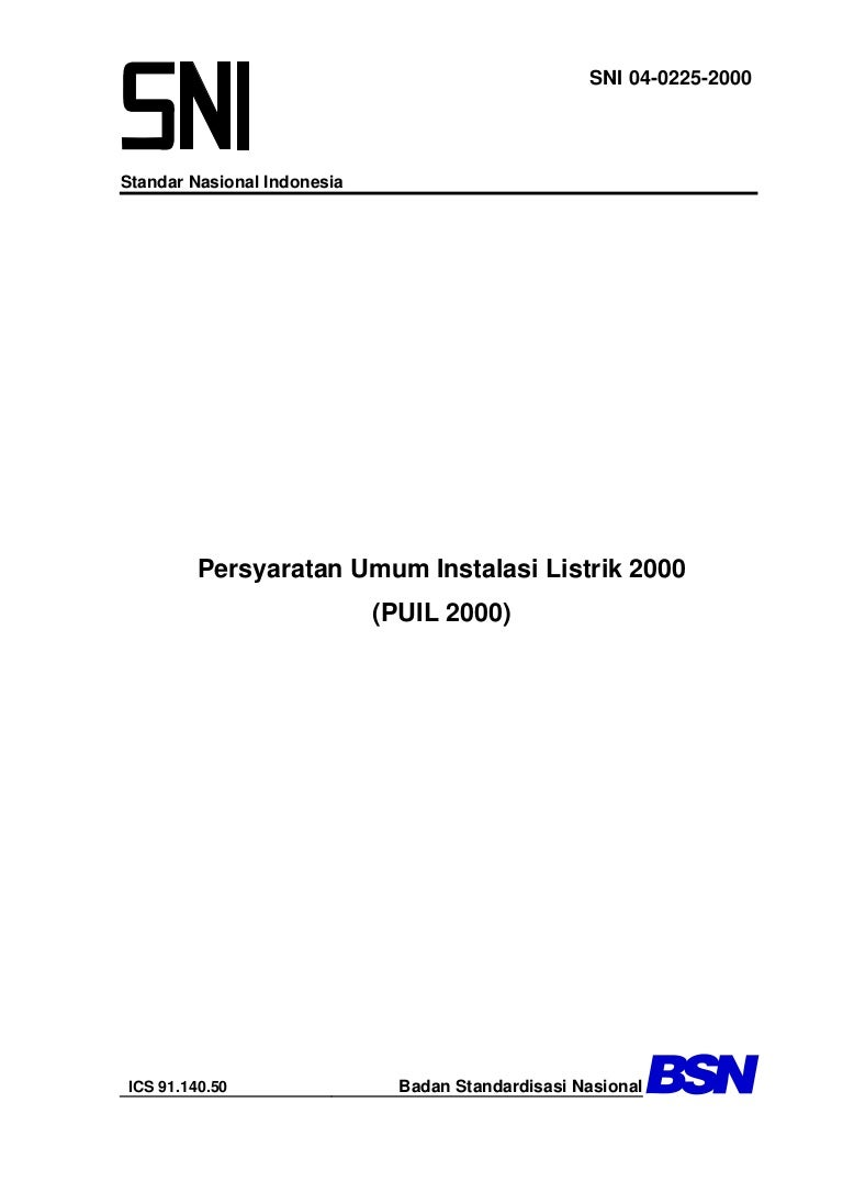 Persyaratan Umum Instalasi Listrik Puil 2000 Wiring Diagram Gedung