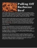 Pulling off barbecue beef