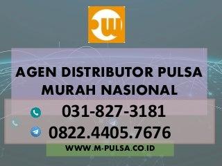 Pulsa murah all operator, distributor pulsa murah, bisnis pulsa murah MPULSA - 082244057676
