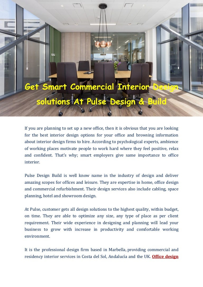 Pulsedesignbuild Commercial Interior Design