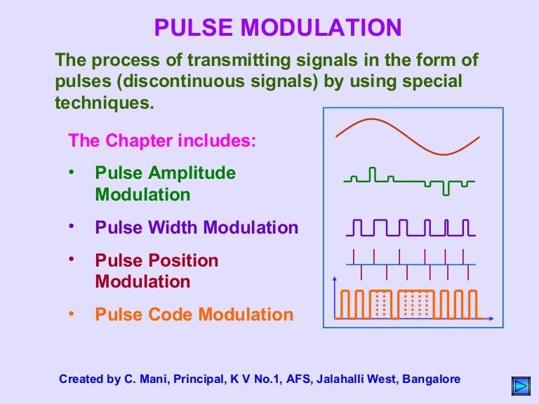 Pulse Modulation Pdf