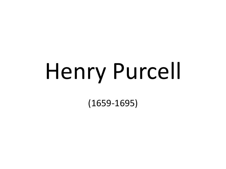 Hendry Purcell