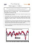 Purchasing Managers´Index Report, February 2011