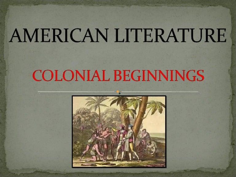 puritan literature