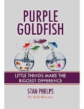 Purple Goldfish - Little Things Make The Biggest Difference Minibuk