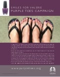 #PurpleToes for #LungCancerAwarenessMonth November