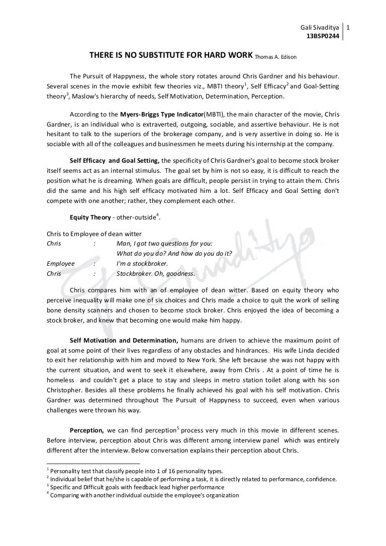 self perception essay essay about my self help writing an essay  pursuit of happyness organization behavior chris gardner essay on perception