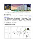 Purva High Crest – Luxury Project Bangalore Call (+91) 9555666555