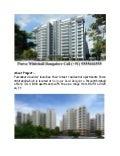 Purva Whitehall – Luxury Apartments in Bangalore Call 9555666555