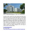 Purva Whitehall – Sarjapur Road Bangalore Call 9555666555