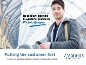 Putting the customer first   travelling by rail experience