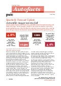 Etude PwC Autofacts production mondiale (mai 2014)