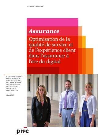 Etude PwC sur l assurance à l ère du digital (mars 2015) d3232f781bf9