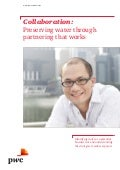 "Etude PwC ""Collaboration: Preserving water through partnering that works"" (avril 2015)"
