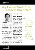 Why Investors Should Focus on Japanese Real Estate