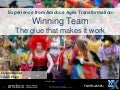 Winning team – the glue - Amdocs Delivery