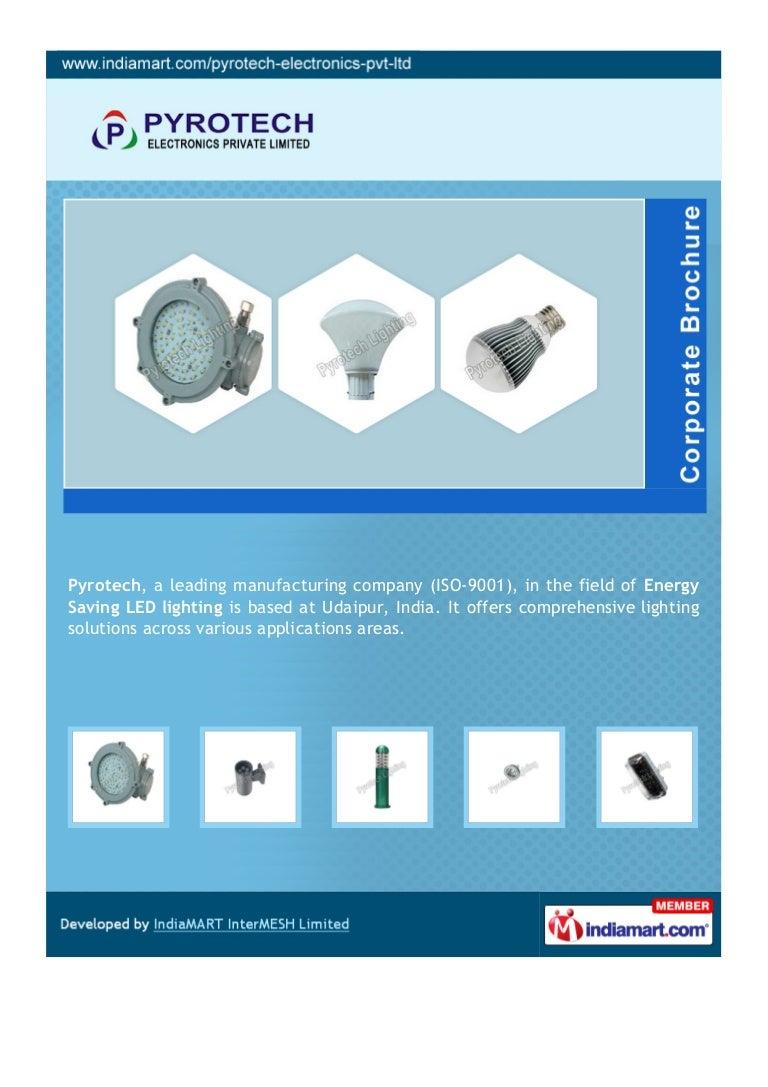 sc 1 st  SlideShare & Pyrotech Electronics Private Limited Udaipur LED Hand Lamp azcodes.com