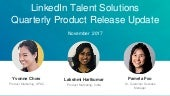 APAC LinkedIn Quarterly Product Release Webcast
