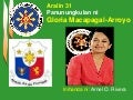 Q4 lesson 31 gloria macapagal-arroyo