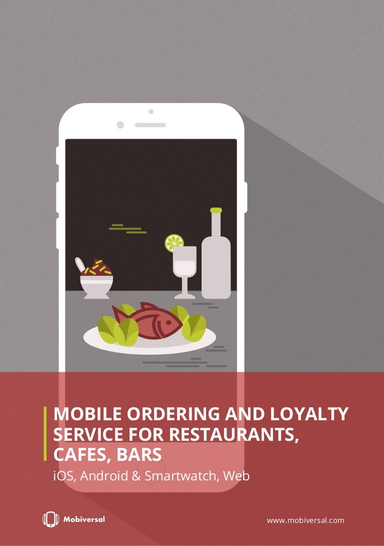 How Much Does It Cost To Build A Mobile Ordering And