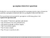 qa engineer interview questions