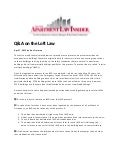 Q&A on Loft Law by Dov Treiman