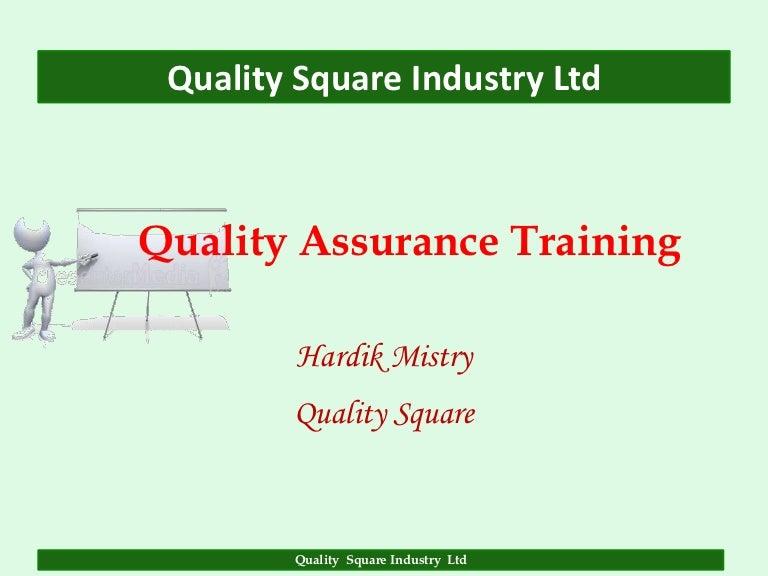 Quality assurance ccuart Choice Image
