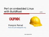 Perl on embedded Linux with Buildroot‎