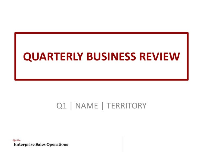 High tech quarterly business review template cheaphphosting Images