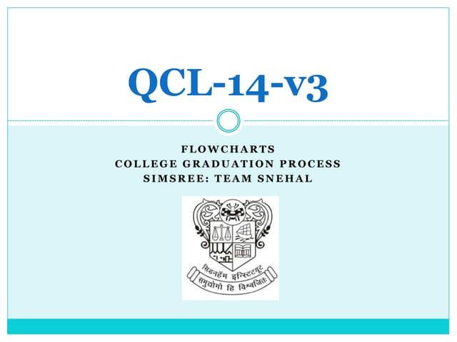 Qcl 14-v3 flowcharts-college graduation process-simsree_snehal suryawanshi