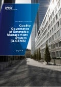 Quality Governance of Enterprise Management System (Q-GEMS)