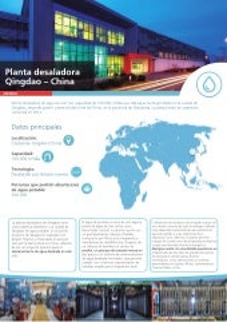 Planta desaladora Qingdao – China