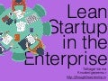 Lean Startup in the Enterprise