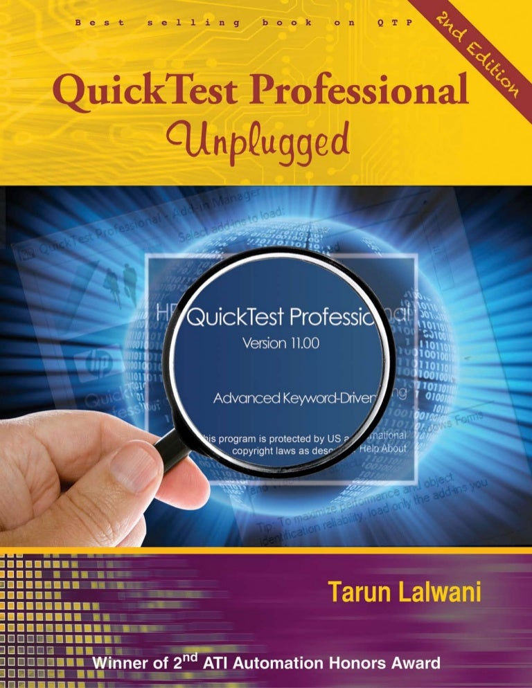 qtp unplugged 2nd edition updates ebook rh slideshare net
