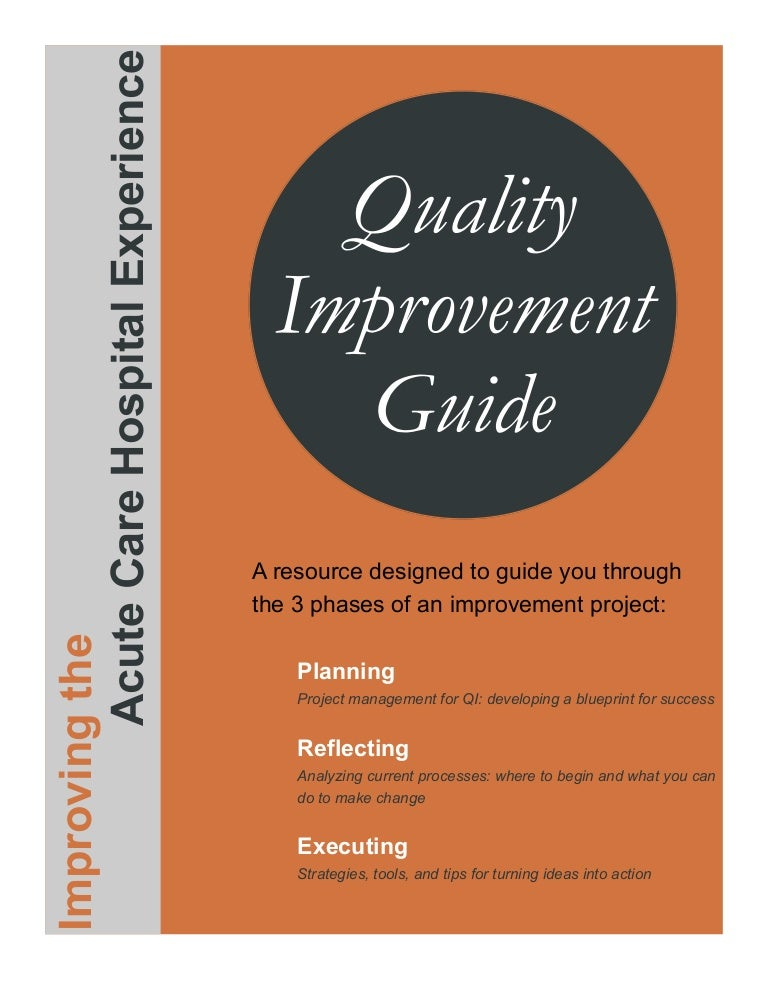 Improvement Project Guide