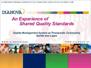 Quality Management System TC Dianova