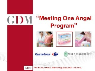 Baby Marketing in China, GDM Services