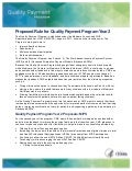 Quality Payment Program (MACRA) Proposed Rule