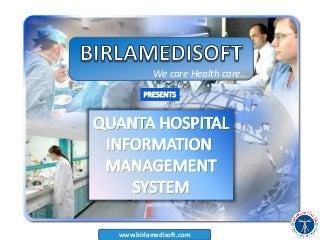 [PPT] Hospital management system - Quanta-his
