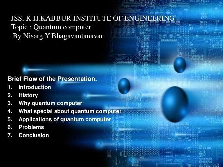 Quantum computer ppt