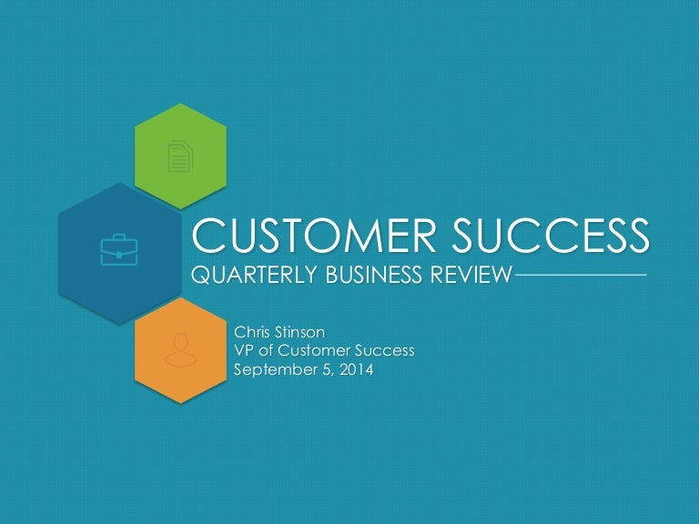 Quarterly business review template accmission