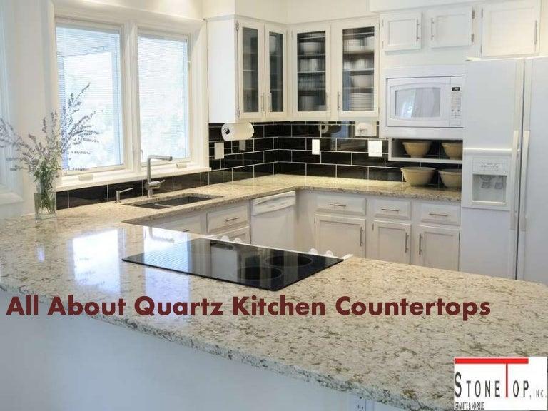 All About Quartz Kitchen Countertops Stone Top Inc