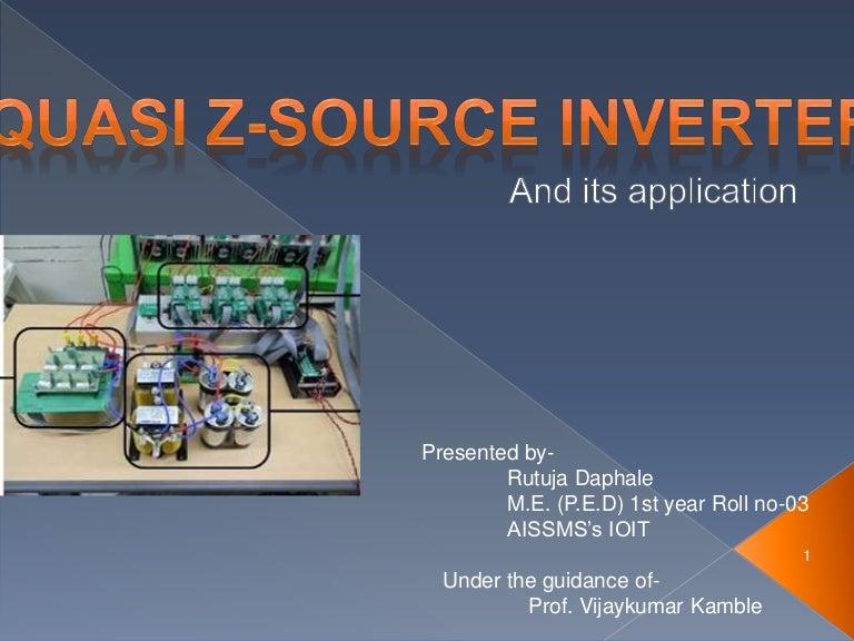 Quasi Z Source Inverter
