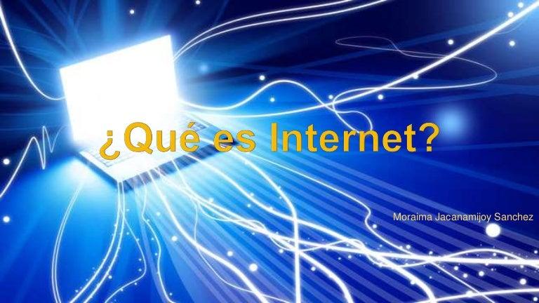 Que es el internet