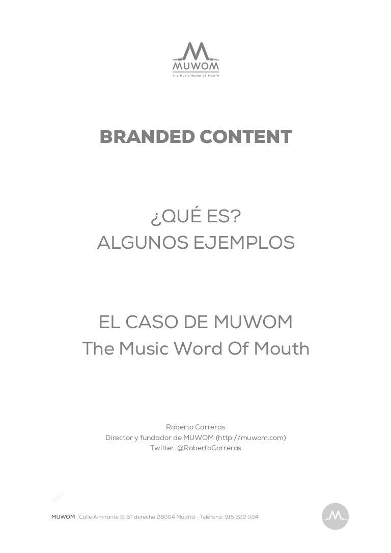 Qué es Branded Content? Consejos y Ejemplos