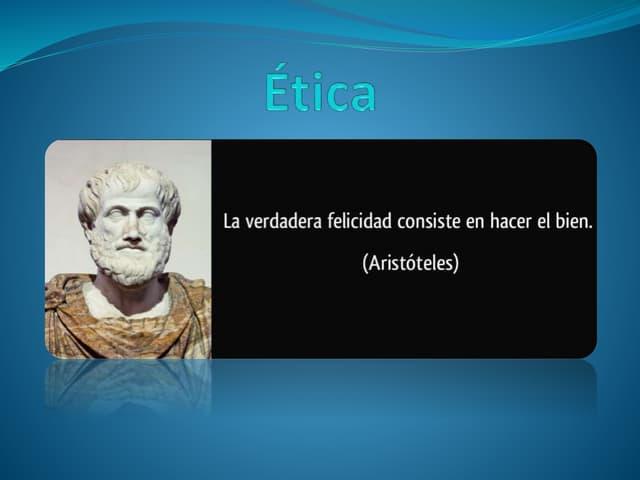 Qué es la ética