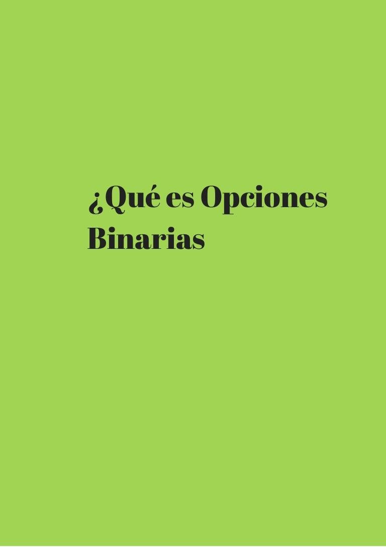 Conversiones de opciones binarias