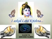 Questions To Lord Krishna