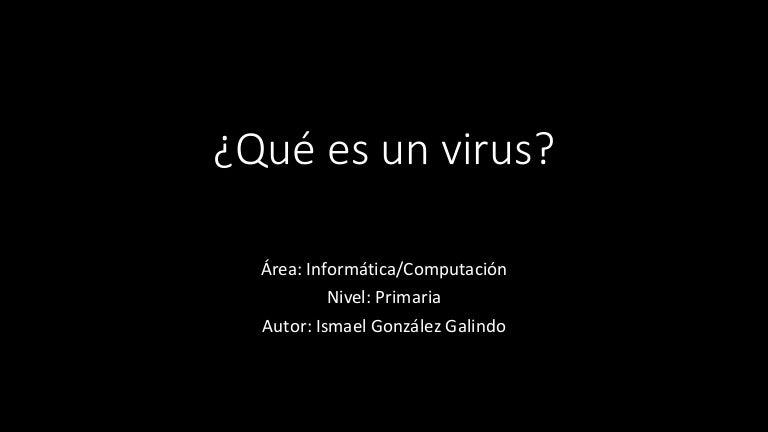 VIRUS webquest básico