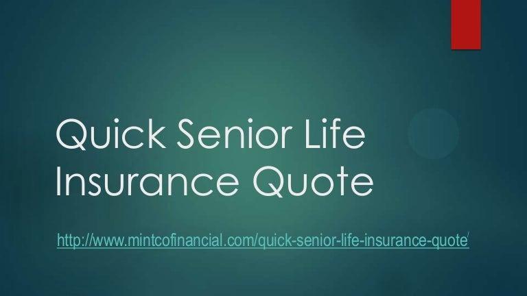 Quick Senior Life Insurance Quote Life Insurance For Seniors Over 60 Adorable Senior Life Insurance Quote
